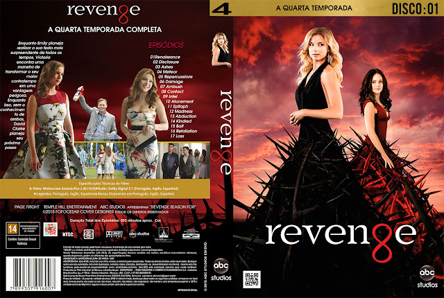 Capa Revenge 4ª Temporada