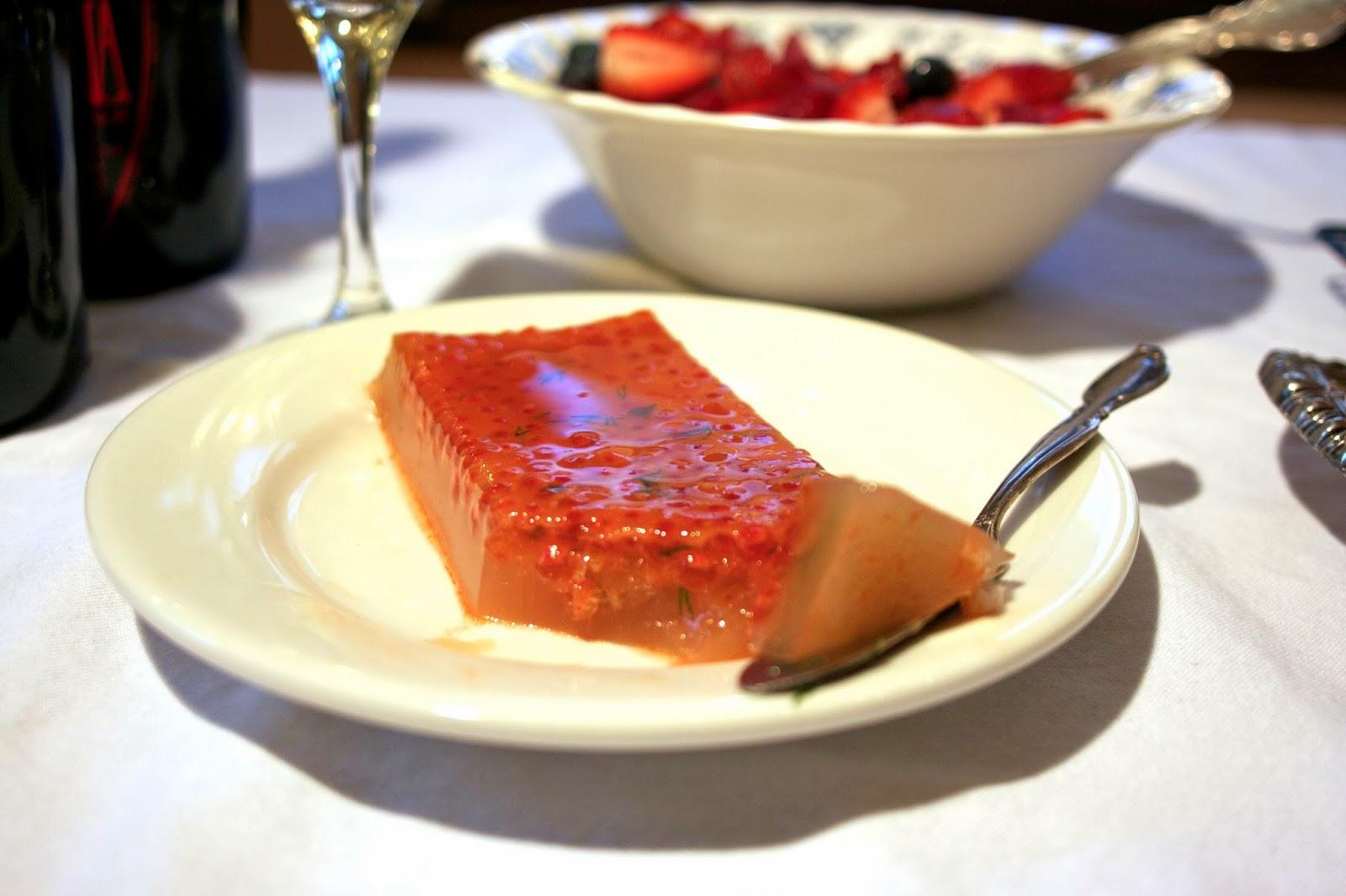 Caviar Aspic Terrine: simplelivingeating.com