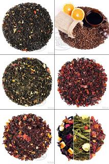 prezent, herbata