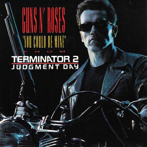 25 años  - single :  You  could be mine  (1991)-Terminator-II