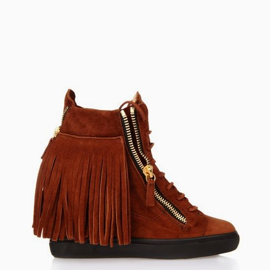 Giuseppe Zanotti fringe sneakers