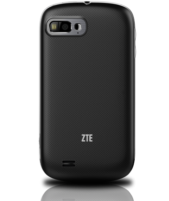 Back of the ZTE Valet - Note camera w/ flash