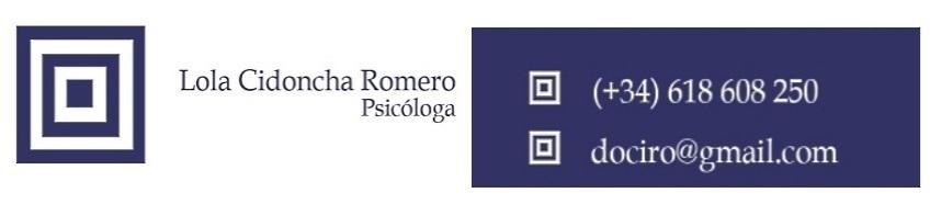Gabinete Psicología: Lola CIDONCHA