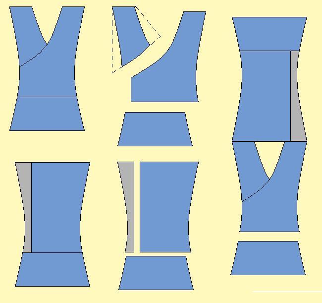 Moldes de remeras de mujer - Imagui