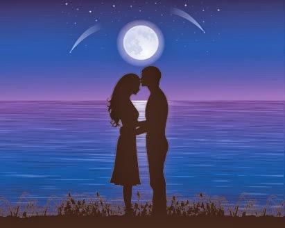 Wahre Liebe zeigt sich in den Liebesbildern des Partners.
