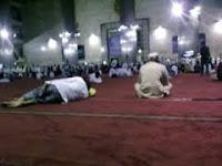 suasana i'tikaf di masjid