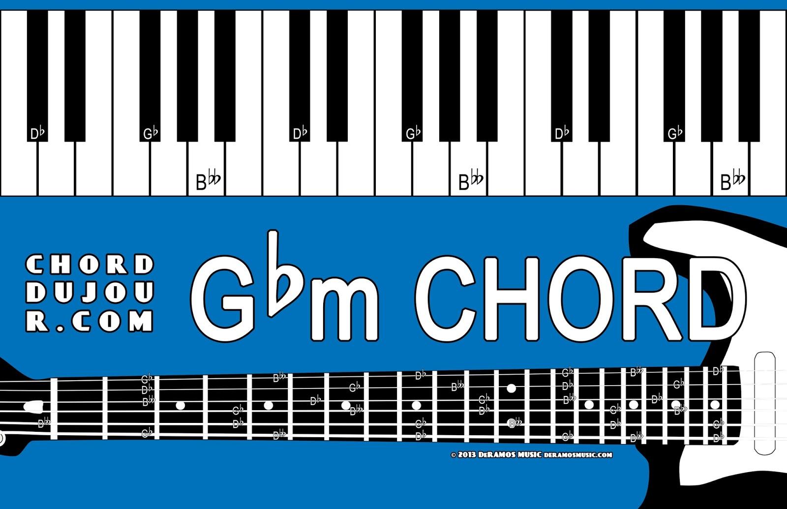 Chord Du Jour Dictionary Gbm Chord