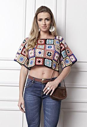 A Blusa de Squares veste Thalita Rebouças