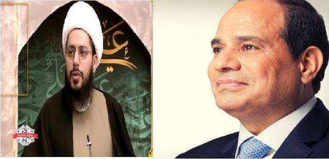 بالفيديو الداعية الشيعي ياسر حبيب يهاجم الأخوان المسلمين والسلفيين ويصف السيسي بأنه أمير المؤمنين