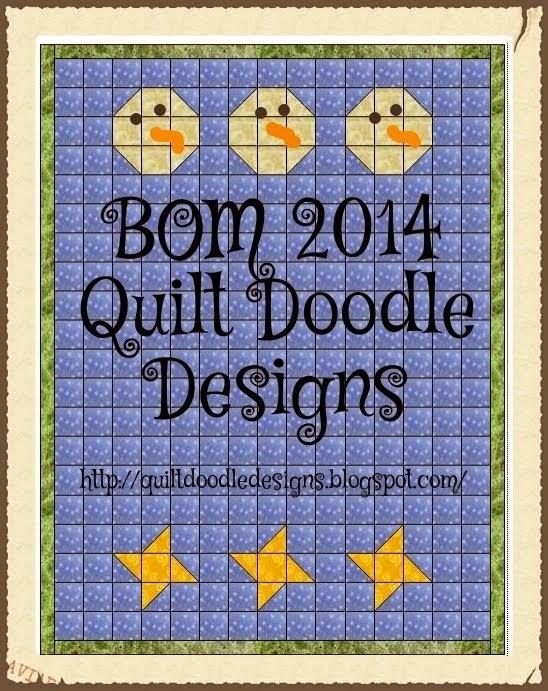 Quilt Doodle 2014 BOM