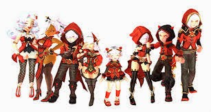 Costume Argenta Dragon Nest