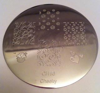 cheeky nail art plates