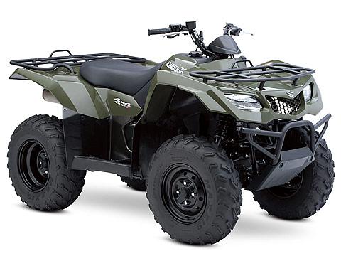 2013 Suzuki KingQuad 400ASi ATV pictures. 480x360 pixels