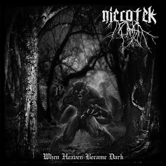 When Heaven Became Dark, Nicrotek One Man Black Metal Band from Surabaya Indonesia, Indonesian One Man Black Metal
