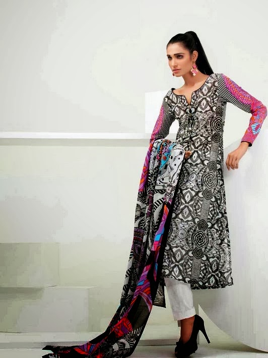 Psychedelic Lawn Collection by Gul Ahmed