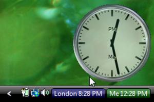 النسخة الحديثة الساعة الرقمية Anuko
