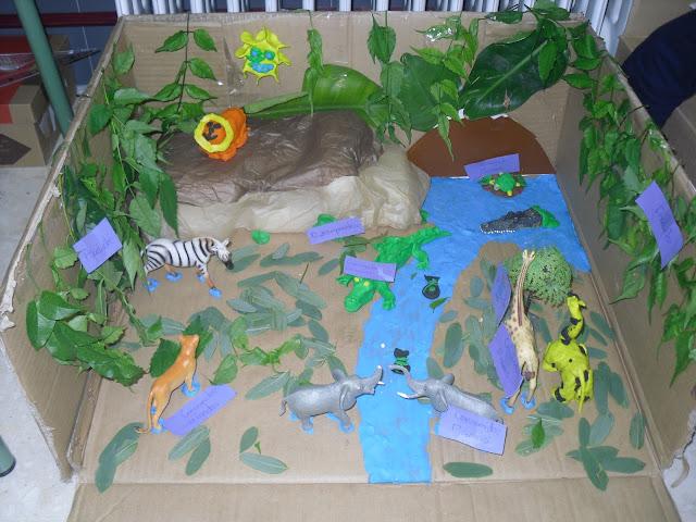 Maqueta De Un Ecosistema