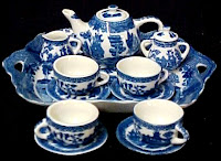 Blue Willow Tea Service