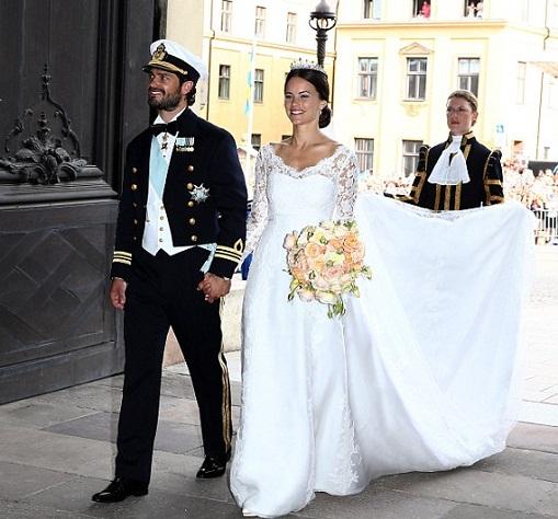 Sweden Royal wedding photo Prince Carl Philip
