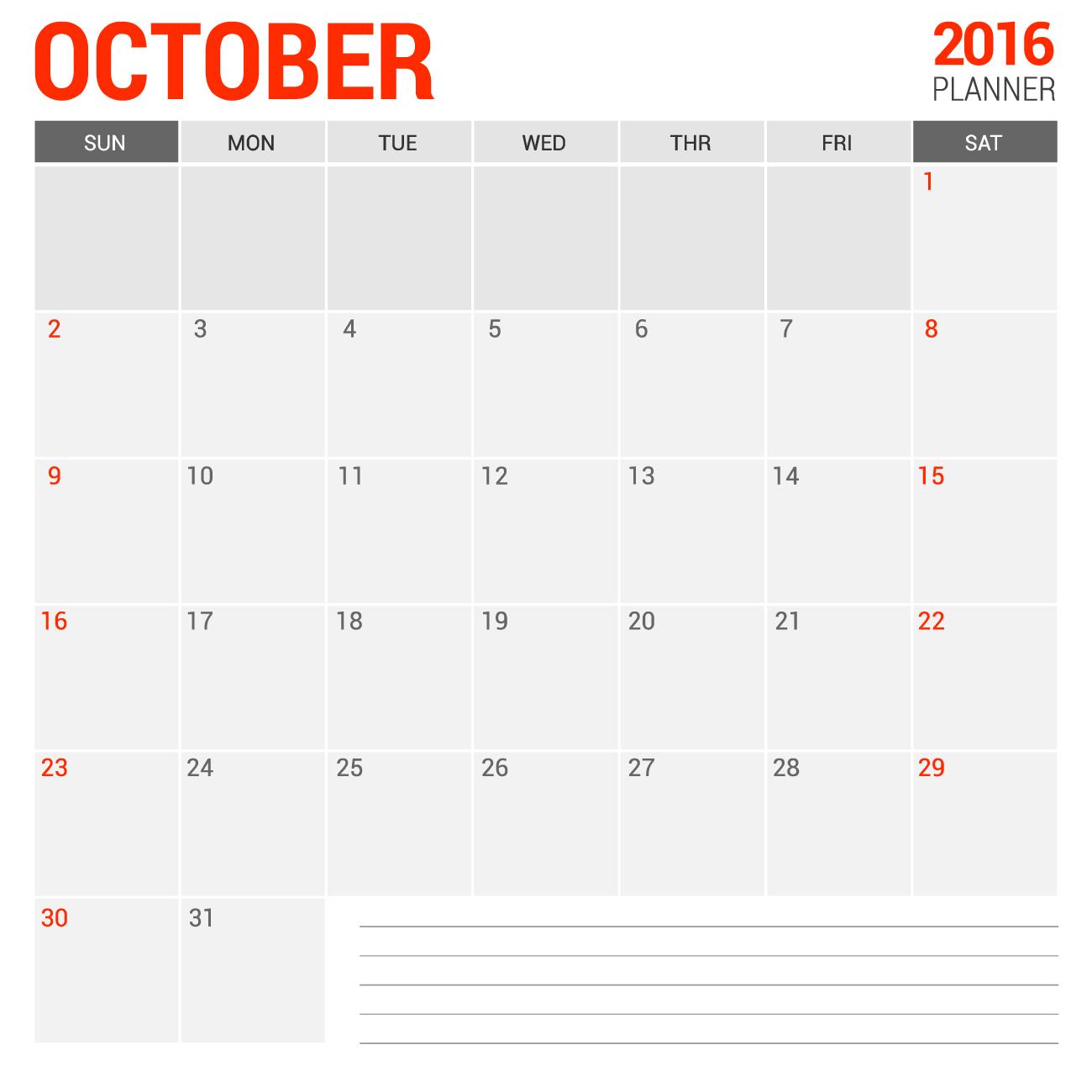 All blank calendar 2016 free empty with notes 2016 blank calendar calendar en www albumi