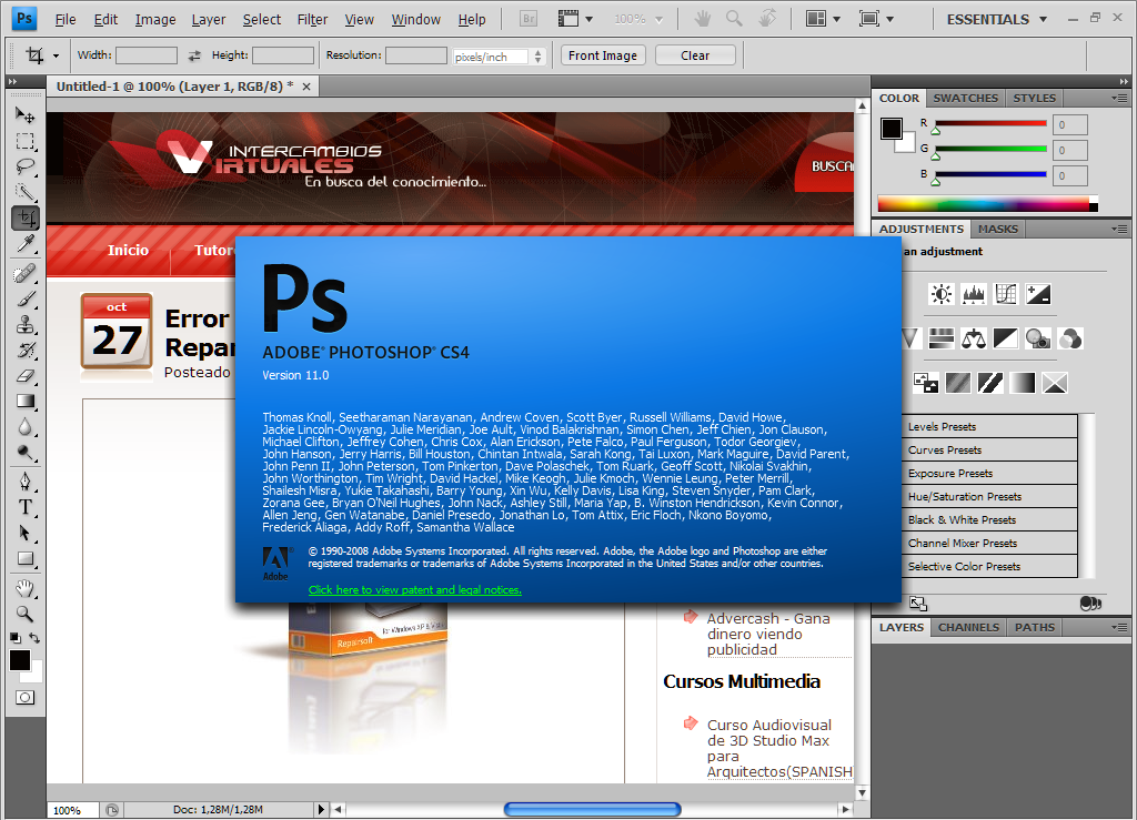 Adobe Photoshop CS2 - Download