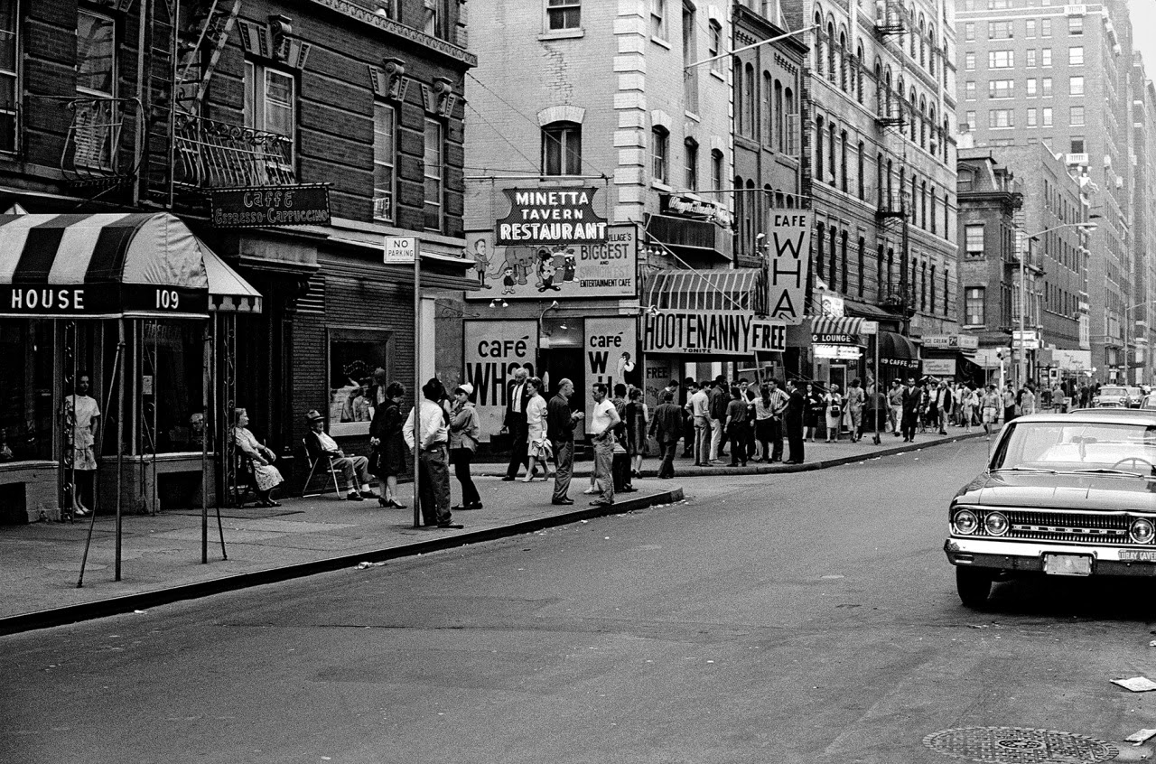 Vintage Everyday Pictures Of Cafe Wha In The 1960s