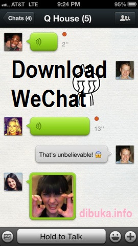 Download WeChat For PC, Nokia, Android