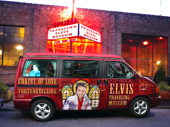 Elvis Art Van - Art Car Central