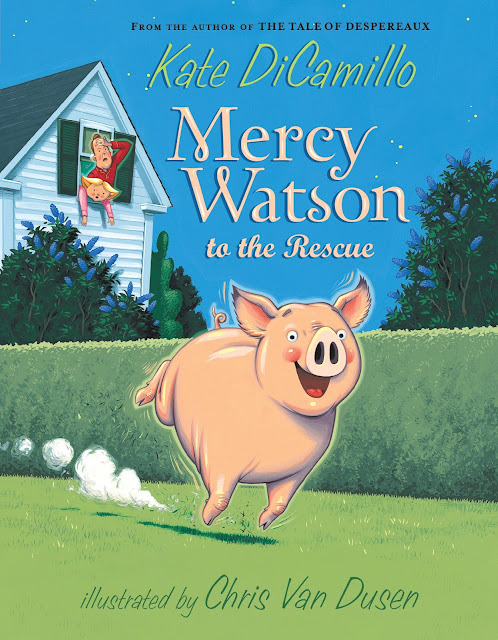 Mercy Watson series from Kate DiCamillo and Candlewick Press!