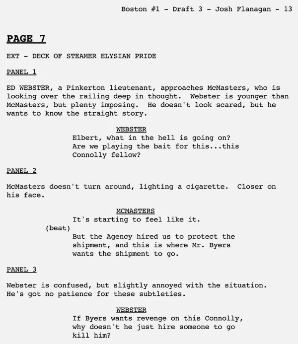 script writing template