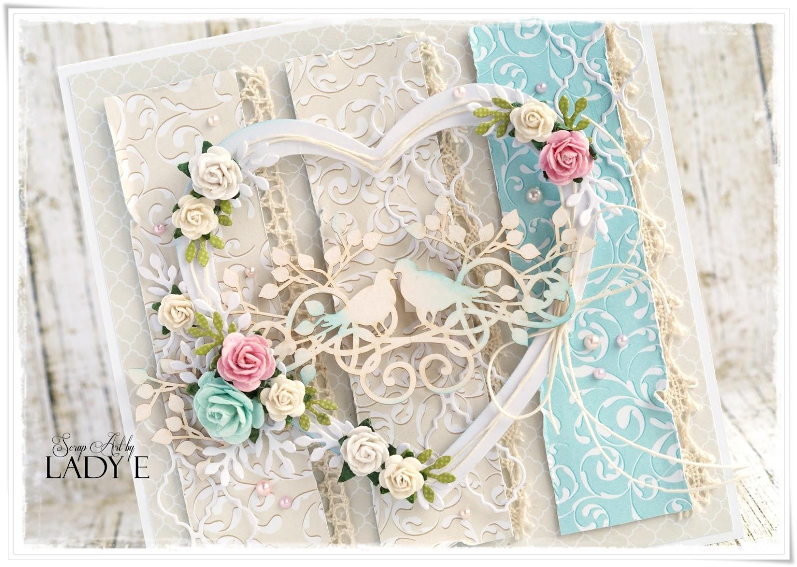 Wild Orchid Crafts 2 Wedding Anniversary Cards