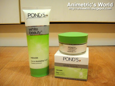 Pond&#39;s White Beauty Naturals line