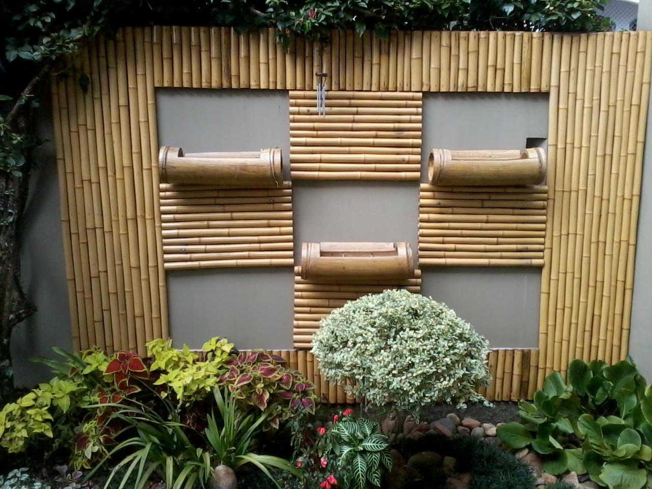 jardim vertical bambu : Vida Bambu - Curitiba - PR.: Jardim vertical em bambu