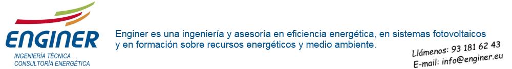 ENGINER.eu - Ingeniería y Consultoría Energética. Especialistas en fotovoltaica.