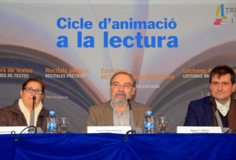 Vídeo de l'Encontre a la Biblioteca Valenciana