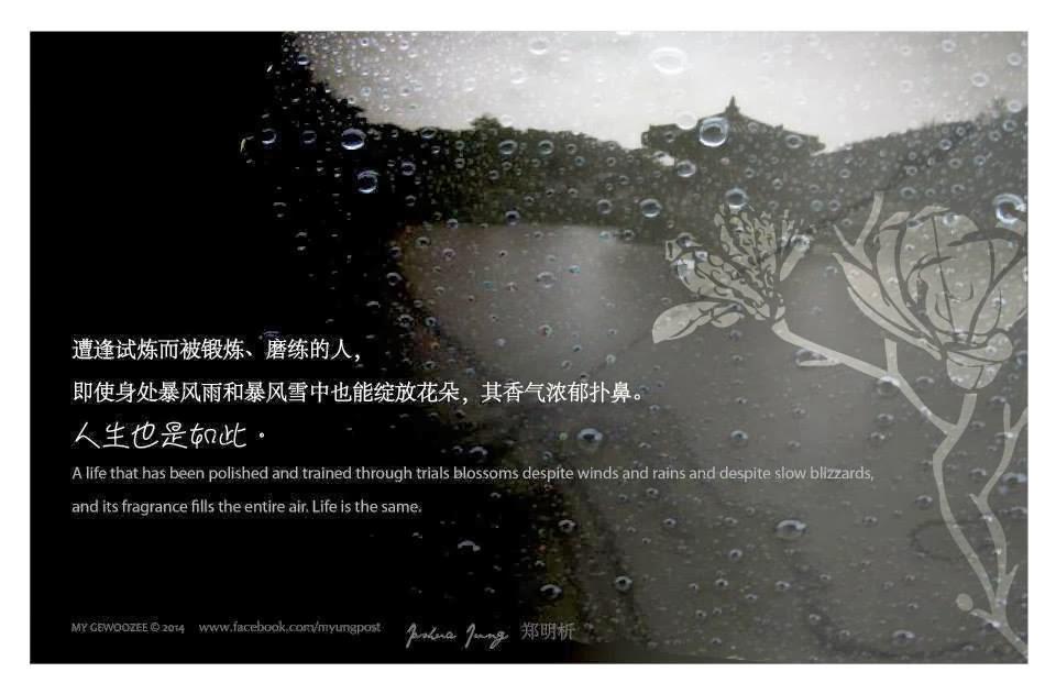 郑明析,摄理教,Joshua Jung, Providence, Life, fragrance