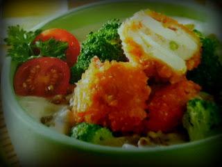 Resep Sup Krim Brokoli Tofu Krispi Seafood