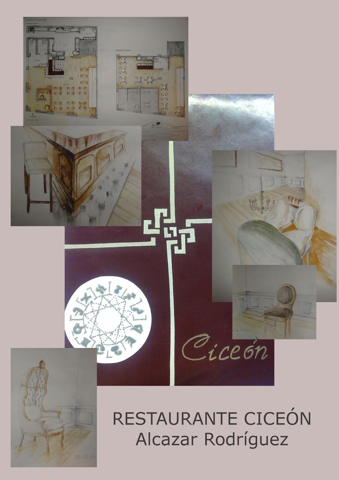 Decoraci n de interiores trabajos alumnnos ii restaurantes - Trabajos de decoracion de interiores ...