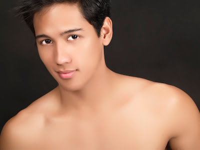 Kenjie Garcia, not the indie actor but the male bikini contest veteran.