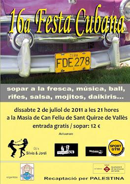 Festa Cubana Solidària 2011