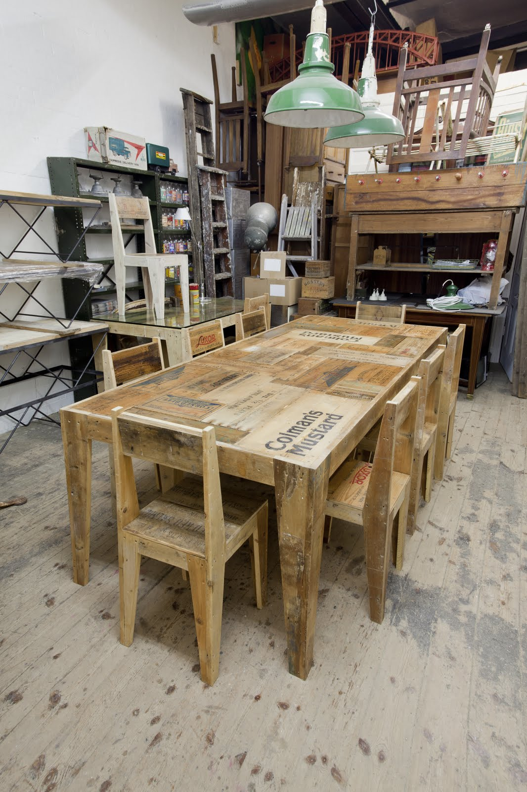 Styling and Salvage crate furniture collection