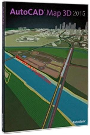 Autodesk AutoCAD Map 3D 2015 Full Keygen