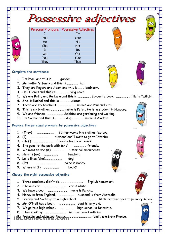 genitiv english worksheets