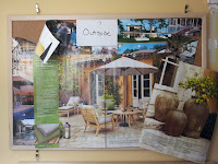 A Traditional Cork Pin Board of Patio Ideas