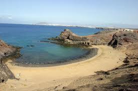 Playa del Papagayo en España