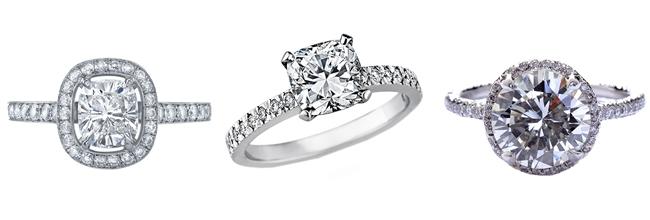 Elegant Engagement Rings Blue Topaz