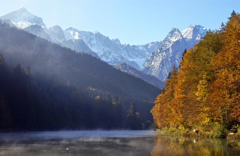 Herbst am Riessersee