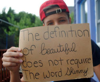 "The Definition of ""Beautiful"" Does Not Require the Word ""Skinny"""