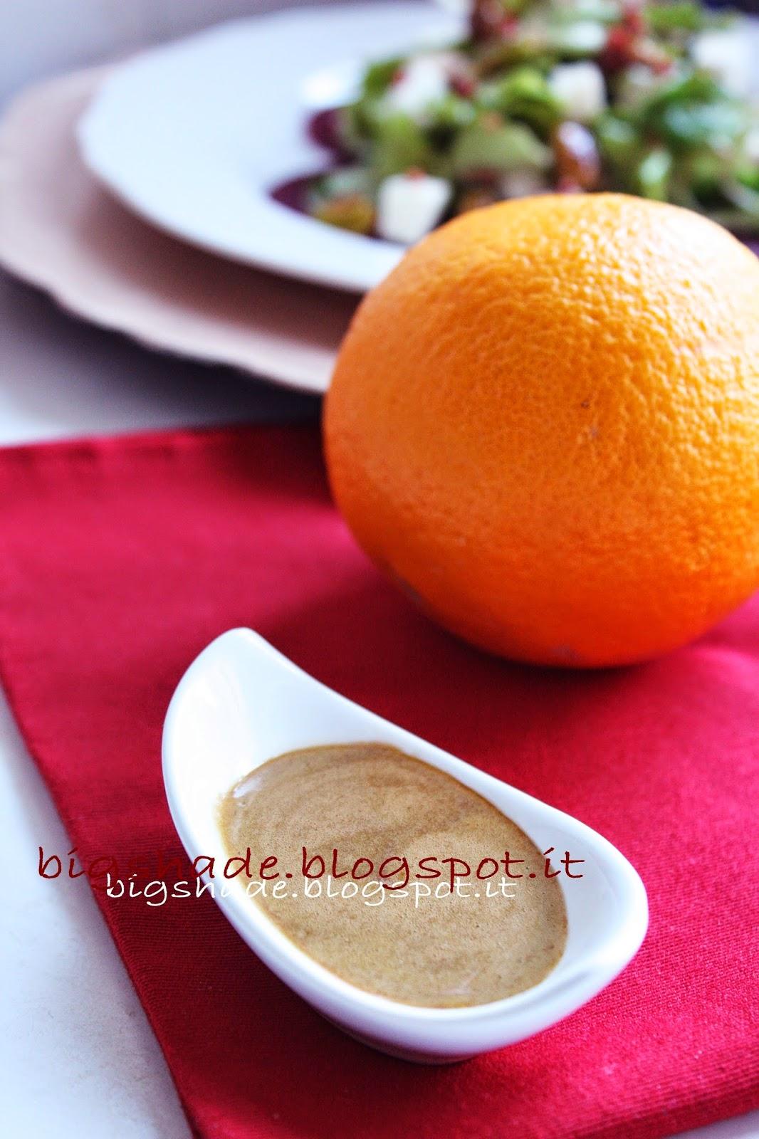 dressing all'arancia
