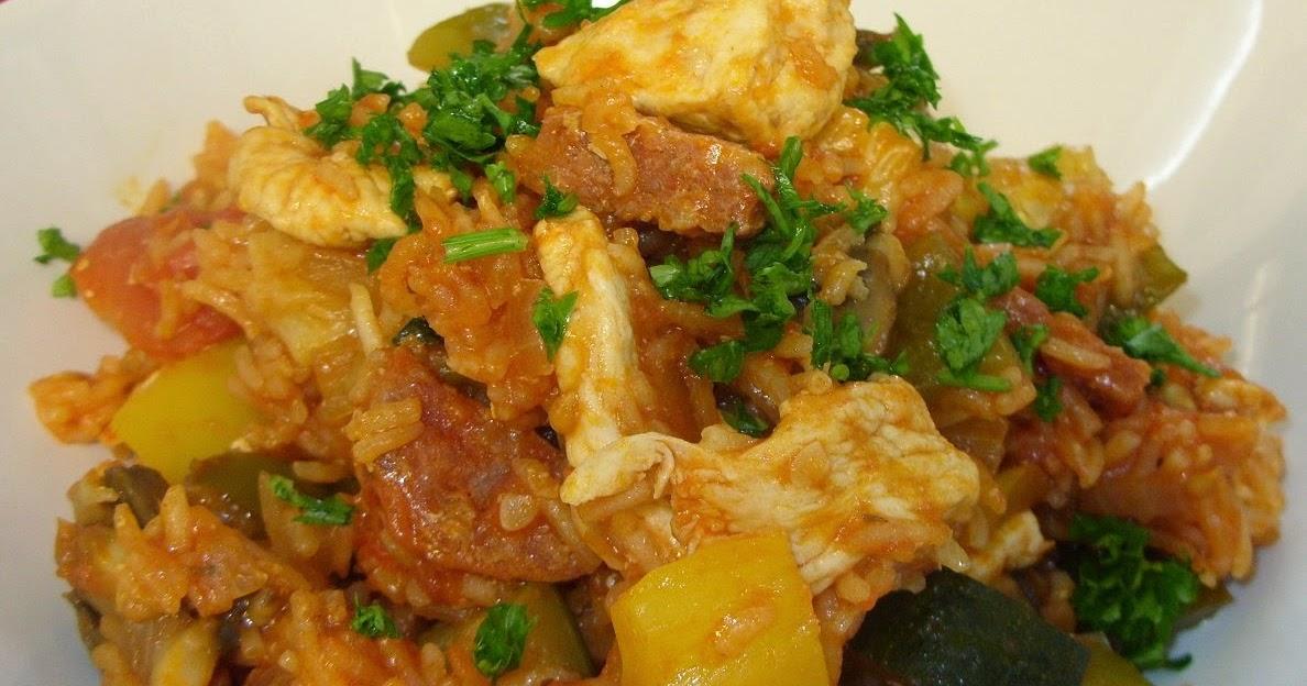 Jenny Eatwell's Rhubarb & Ginger: Chicken and chorizo Jambalaya
